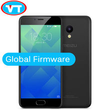 Original novo meizu m5 global firmware 4g lte celular 2.5d vidro mt6750 octa núcleo 5.2