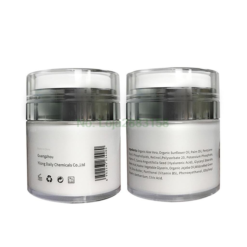 Organic Retinol Moisturizing Face Cream Vitamin C Whitening Anti Aging Wrinkles салатник luminarc arty orange диаметр 27 см