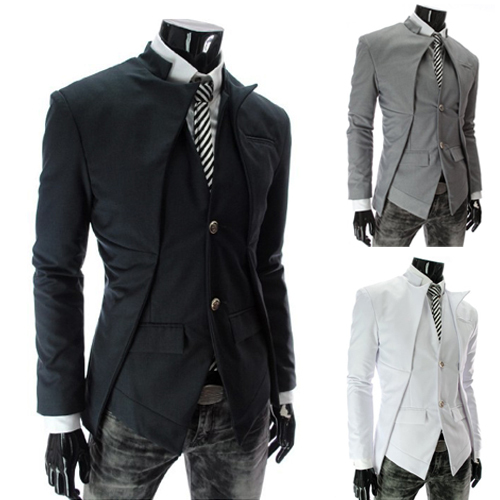 Online Shop HOT Men's Blazers Jacket The Asymmetrical Designed ...