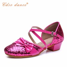 Cdso dance lots of style Children latin/modern/practice dance shoes, Girls Shoes, Kid Ballroom Salsa Shoes free shipping