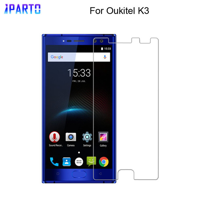 Oukitel K3 Tempered Glass 100% New Good Quality Premium 9H Screen Protector Film Accessories for Oukitel K3