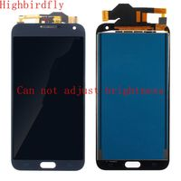 Highbirdfly For Samsung Galaxy E7 E700 E700F E700Y E700M Lcd Screen Display+Touch Glass DIgitizer Assembly Repair lcds TFT