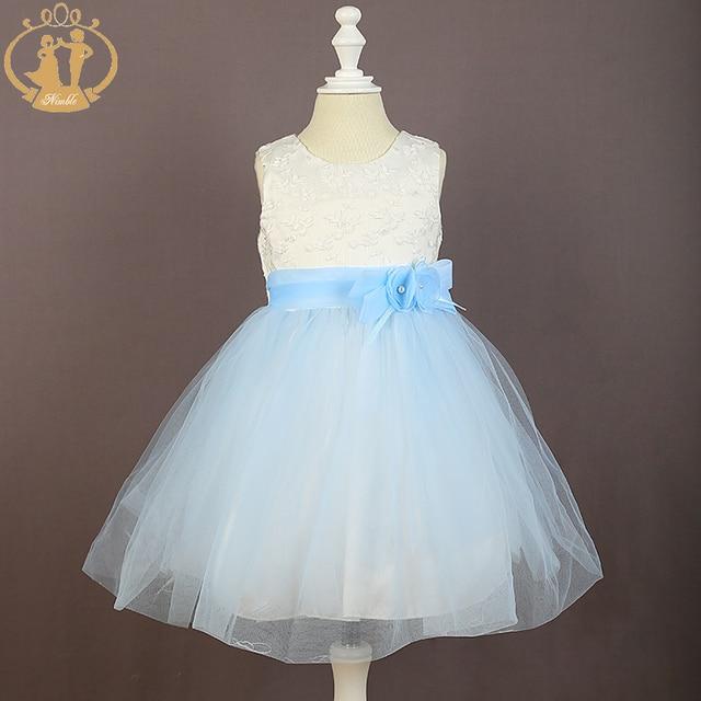 Baby kleid hochzeit blau