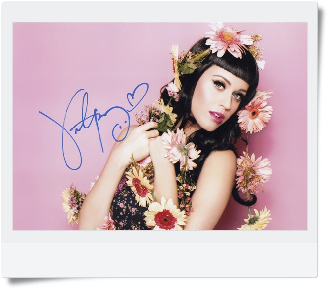 signed Katy Perry autographed photo 7 inches free shipping  4 versions 092017 signed wolf warriors celina jade autographed original photo 7 inches 7 versions free shipping 082017