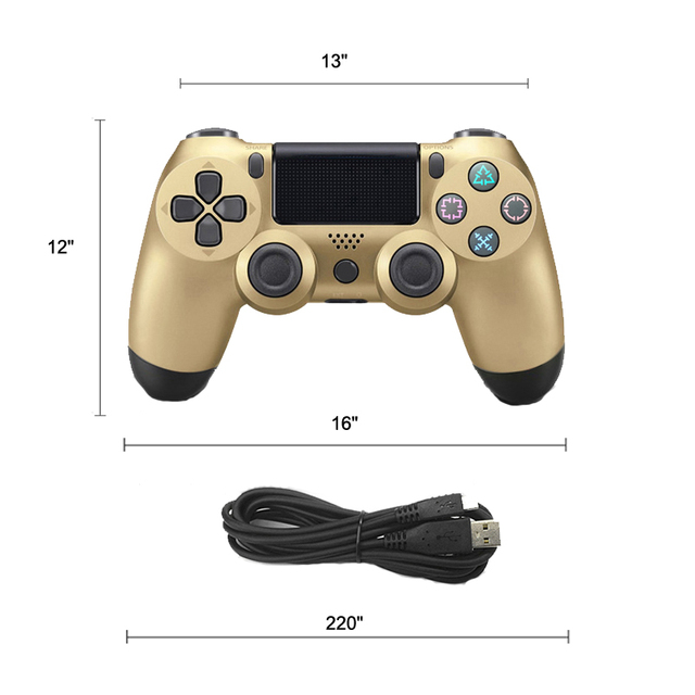 Wired Controller For Sony PS4 Gamepad Joypad Vibration Joystick Controller for Play Station 4 For PS3 Console For Win 7/8/X
