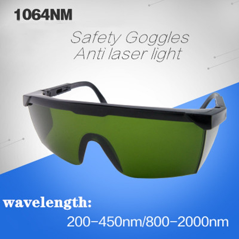 Protective Goggles High Quality PC Lens 1064nm Fiber-optical Laser Safety Glasses 800-2000nm Radiation Infrared Welding Glasses