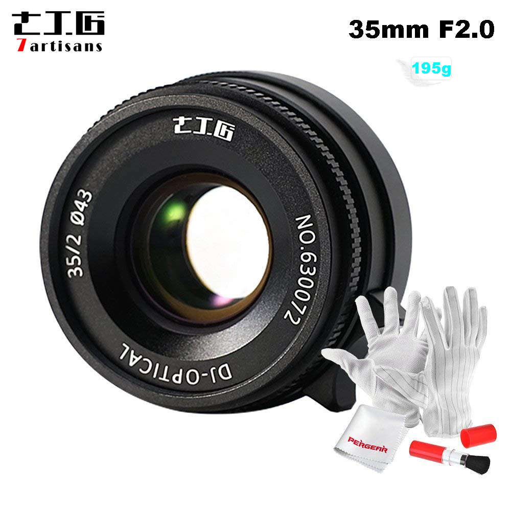 7artisans 35mm F2 0 Manual Prime Lens for Leica M Mount Cameras for Leica M2 M3