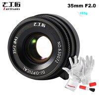 7artisans 35 мм F2.0 ручной объектив с фиксированным фокусным расстоянием для Leica M LM объектив крепление камеры Leica M2 M3 M4 2 M5 M6 M7 M8 M9 M10 M4P M9p M240 мне M26 M M