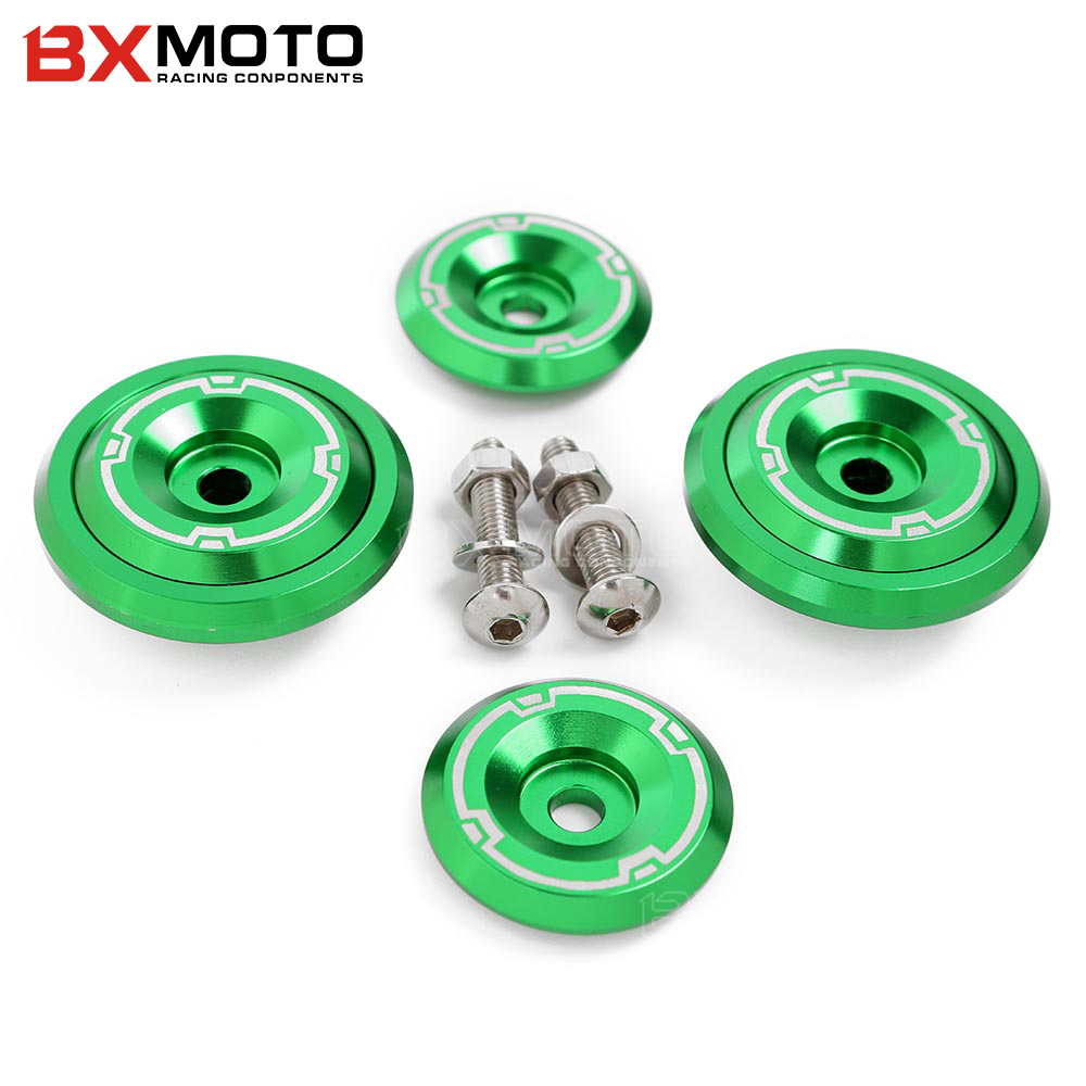 For Kawasaki Z900 2017 Motorcycle Accessories Parts Cnc Aluminum Engine Frame Hole Cover Caps green For Kawasaki Z900 Z 900 2017 zoomer ruckus fi nps50 engine frame extend extension kit cables black motorcycle parts