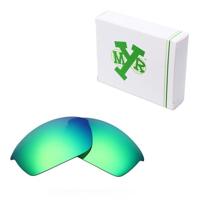 MRY ПОЛЯРИЗОВАННЫХ Сменные Линзы для Oakley Бронежилет Очки Изумрудно-Зеленый