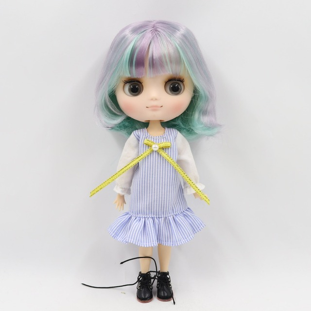 TBL Middie Blythe Dolls Colorful Hair Jointed Body