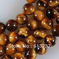 "Hot Sale African Roar Yellow Tiger Eye Stone 4mm 6mm 8mm 10mm 12mm Round Loose Beads Free Shipping New Fashion Jewelry 15"" Y0052"