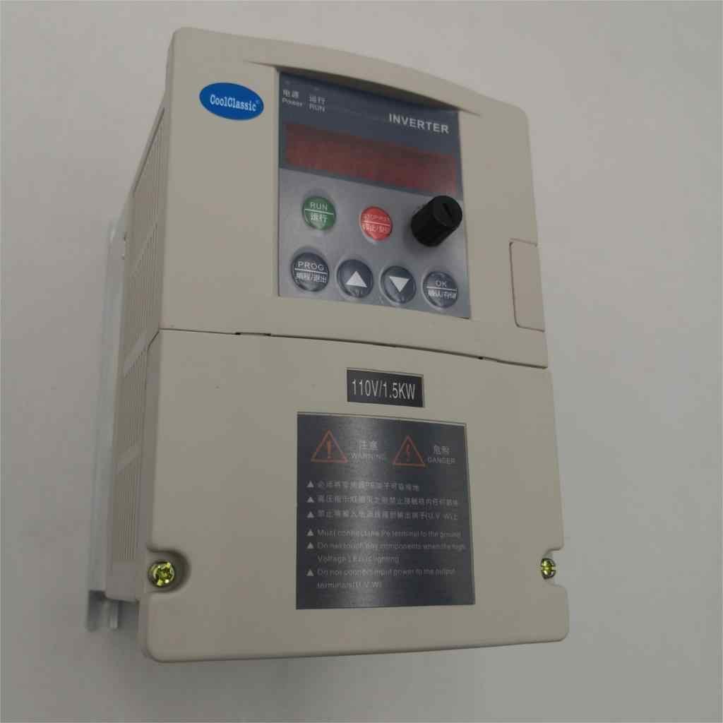Частотный преобразователь VFD, Частотный конвертер 2, 2, 2, 2, 4 кВт, 1, 5 кВт, 1, 3P, 220 В, 110 В, выход, шпиндель с ЧПУ, контроль скорости двигателя, преобразователь VFD 2
