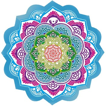 Indian Mandala Beach Towel   1