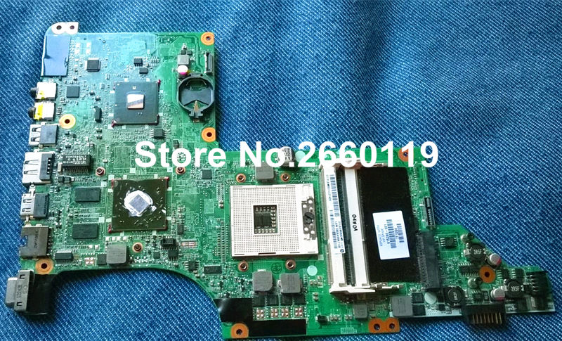 все цены на  laptop motherboard for HP 615280-001 DV6-3000 DA0LX6MB6G1 system mainboard fully tested and working well  онлайн