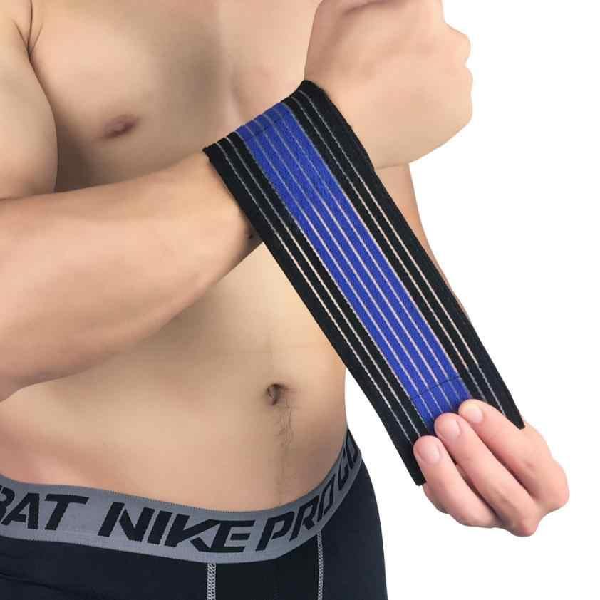 Fishsunday multifuncional envolto pulso elástico bandagem terapia esporte envoltório alívio da dor 0709