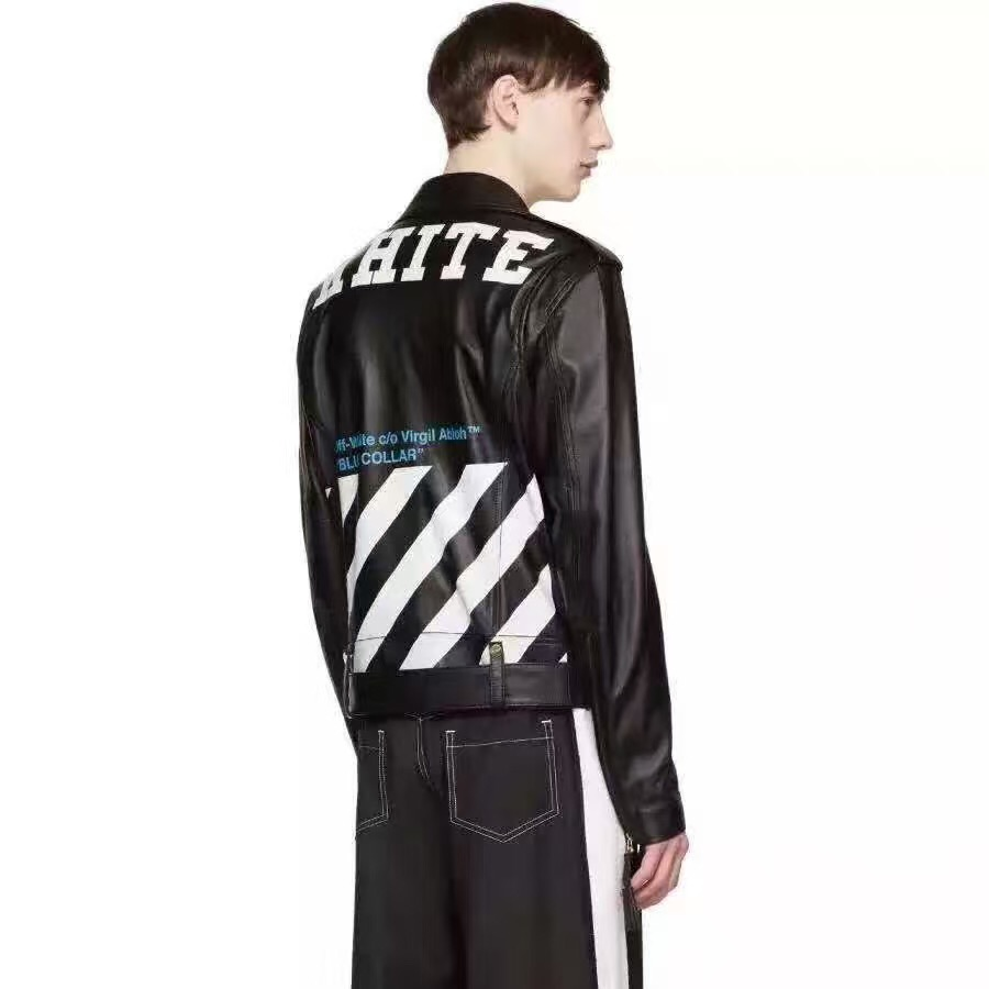Popular Off White Leather Jackets for Men-Buy Cheap Off White