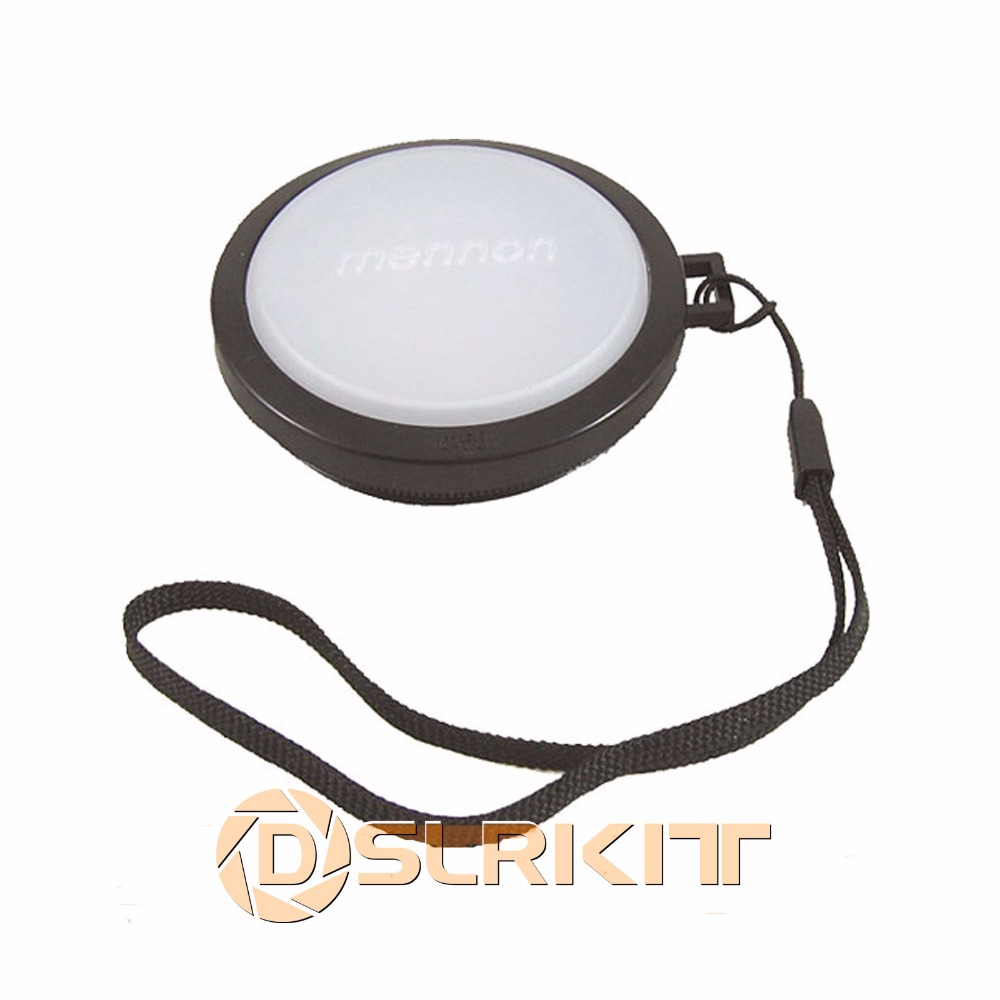 58mm White Balance Lens Filter Cap with Filter Mount White Balance