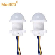 LED Night Light PIR Infrared Human Body Induction Motion Sensor Detector Switch For Home Lighting Lampe LED Sensitive Night Lamp