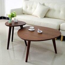 Столы для кафе мебель для кафе из цельного дерева треугольный журнальный столик в сборе диван столик минималистичный стол 43*50 см/60*50 см/78*42 см