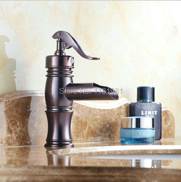 ФОТО Wholesale Bronze  Oil Rubbed Bronze Bathroom Faucet  Deck Mounted Faucet  9037O
