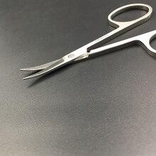 Профессиональные ножницы для ногтей, Маникюрный Инструмент для ногтей, бровей, носа, ресниц, кутикулы, ножницы, изогнутые педикюрные ножницы, Oct, Прямая поставка