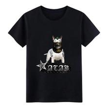 Men's Bullterrier ACAB Punk Fighting Dog t shirt printed Short Sleeve S-XXXL Vintage Interesting Humor Spring Autumn shirt цена и фото