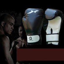 Boxing Glove Leather Punching Mitten Muay Thai Boxing Gloves Boxer Needed Accessory Top Quality