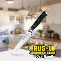 TUO BESTECK Utility Messer-AUS-10 Japanischen Hohe Carbon Küche Messer mit Ergonomische G10 Griff-5 ''(127 mm)