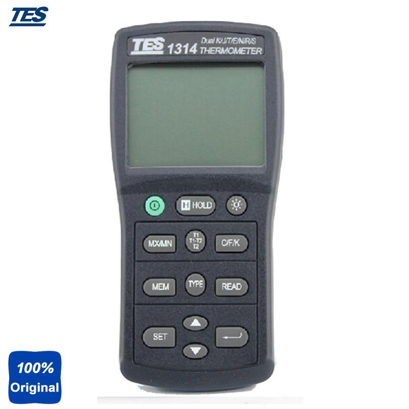 a27a98a69 TES1314 digital portátil k.j.t.e.r.s.n. Termómetro multicanal termómetro