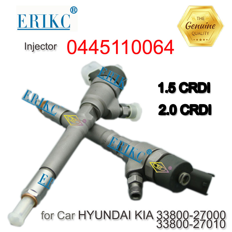 ERIKC 0445110064 Common Rail Diesel Fuel Injector 0 445 110 064 Injector Assy Fuel 0445 110
