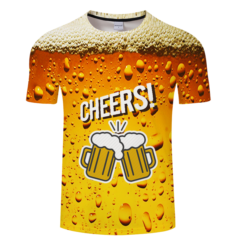 German Beer Full Print T Shirt Cool Summer Novelty Short Sleeve Tee Top Unisex Outfit High Quality Causal Dropship 3D T-shirt