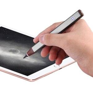 Image 5 - 최고급 2.3mm 펜 스타일러스 펜촉 액티브 커패시턴스 스타일러스 펜 충전식 터치 펜 아이폰 6 s 7 7 플러스 ipad 미니 ipad 공기 2