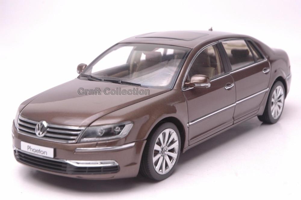 *Brown 1:18 Volkswagen VW Phaeton Luxury Sedan Diecast Model Car Modell Auto Classical Collection