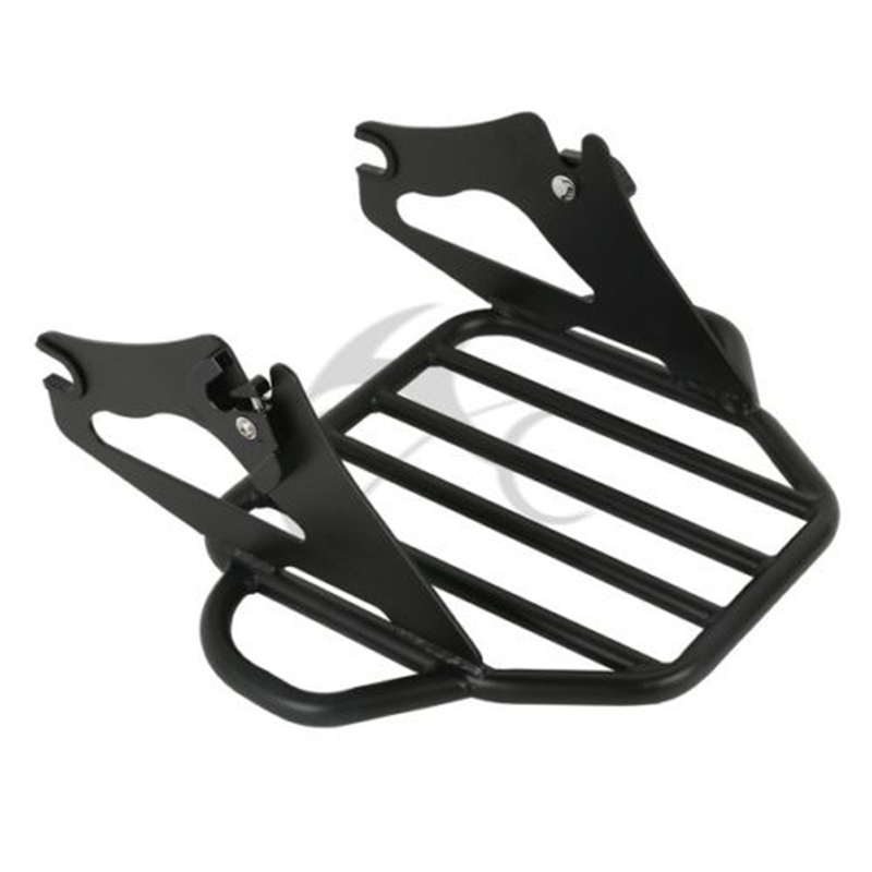 Image 4 - Motorcycle Detachable Two Up Tour Mounting Luggage Rack For Harley Electra Glide Road King Road Glide 2009 2019-in Covers & Ornamental Mouldings from Automobiles & Motorcycles