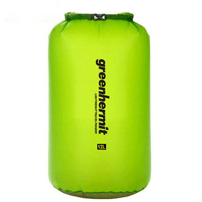 Hot Sale 6L Waterproof Dry Bag UltraLight-Dry Sack 30D CORDURA Swimming Brift Rafting Bag Greenhermit OD1106