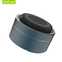 QCY A10 wireless bluetooth speaker metal mini portable subwoof sound with Mic TF card FM radio AUX MP3 music play loudspeaker