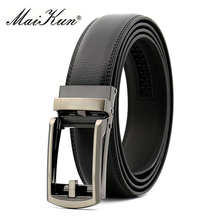 Brand Designer Genuine Leather Men Belts for Men Automatic Buckle Cowskin Belts Luxury Comfort Click Male Strap for Jeans