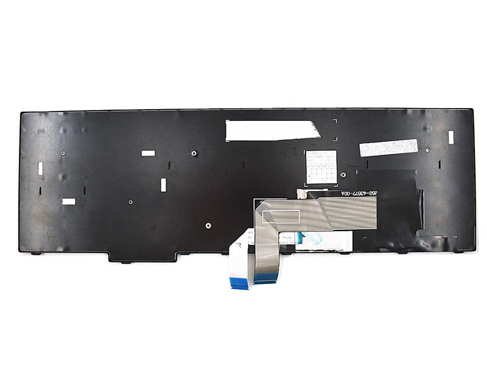 Clavier de remplacement pour ordinateur portable Lenovo ThinkPad E570 E570c E575