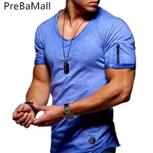 Newest 2019 Summer Men T-shirt Fashion Style Cotton T shirt Men Trend Casual Short sleeve Tshirt Tops tee For Man A03 цены