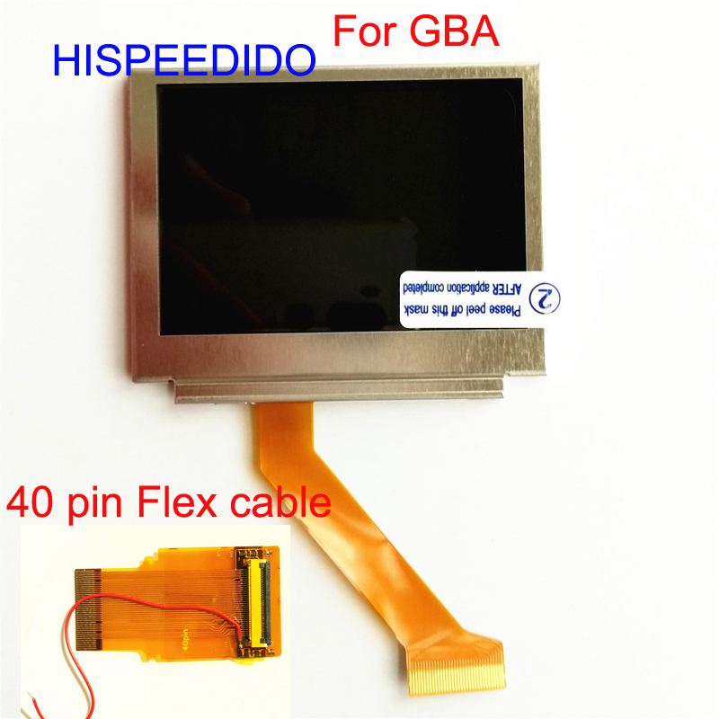 HISPEEDIDO For Nintendo Game Boy Advance SP GBA SP Screen LCD Backlit Brighter Highlight AGS 101