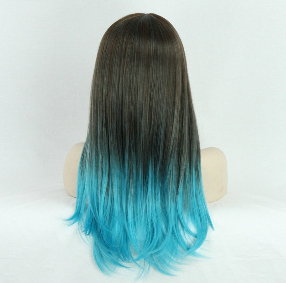 ombre hair blue and brown wwwimgkidcom the image kid