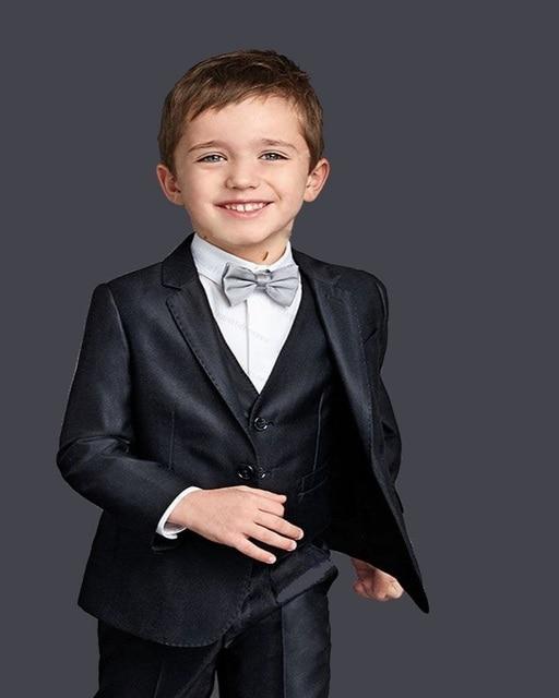 513ebe6f8d0 Лидер продаж 2016 года! (Куртка + жилет + брюки + галстук) черный Костюм