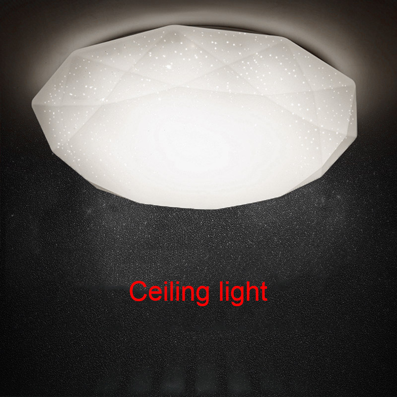 LED Ceiling Lamp Fixture Diamond Shaped Light For Hallway Living Room Kitchen Bedroom MAL999
