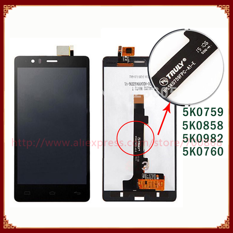 100% Test BQ Aquaris E5 LCD Display Screen Touch Digitizer Assembly 5k0760/5k0759 /5k0760 /5k0627/5K0982 VersionFreeShipping - Topparts store