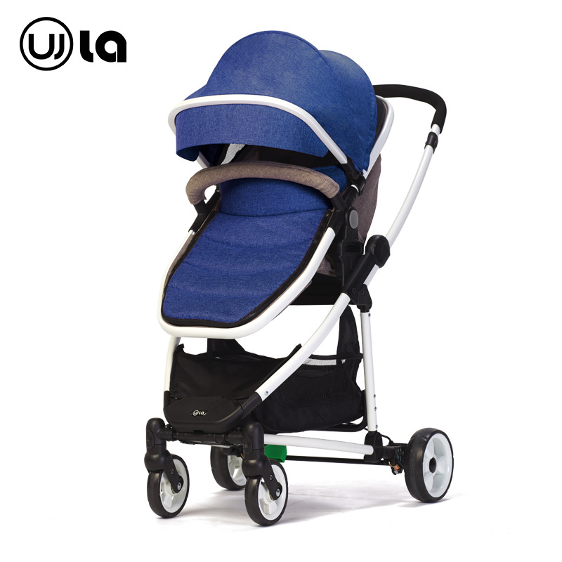 Baby Stroller Can Sit and Can Lie trolley Super Light Folding Four Wheel Trolley babythrone baby stroller portable folding stroller can sit and lie down widen and widen the four wheel shock absorbers