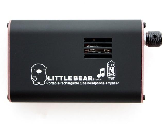 Черный портативный аккумуляторная воздуховода усилитель для наушников усилитель B1 плюс + мобильный портативный усилитель для наушников