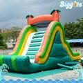 Inflatable Biggors Зеленый Цвет Надувные Слайд С Бесплатным Воздуходувки Для Продажи