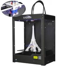 CreatBot Printer 3D / 400*300*520 mm Dual extruder/3d nozzle Upgrade Large Build Size Metal Frame 3d filament ABS,PLA printing
