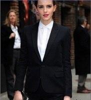 Sale Women Evening Pant Suits Summer Color Tuxedos Custom Women Slim Suits Career Business Ladies Work Dress(jacket+pants)